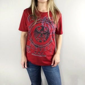 GUESS China- Town 11 graphic tee size XS